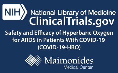 New Clinical Trial: Hyperbaric Oxygen Therapy in Non-ventilated COVID-19 Patients (HBOT)