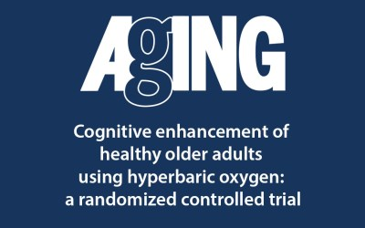Cognitive enhancement of healthy older adults using hyperbaric oxygen: a randomized controlled trial