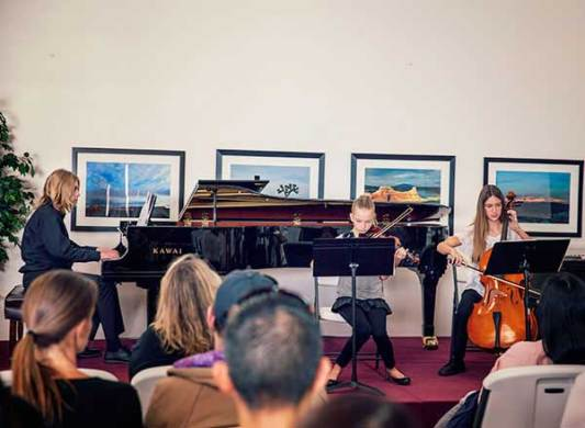Piano Lessons and More   Huntington Beach School of Music Chamber Music