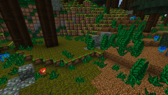 It's even more of a Mega Taiga biome with Megacraft Classic.