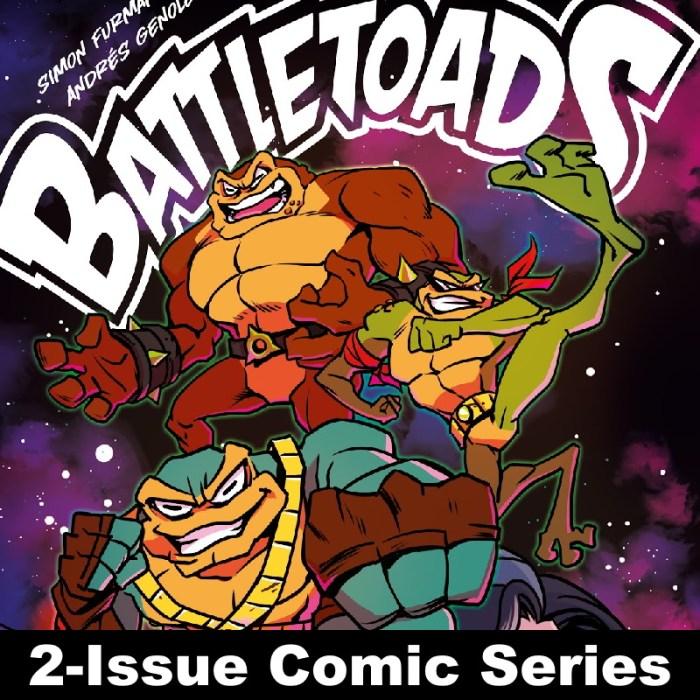 Battletoads the Lost Adventure 2-Issue Comic Series