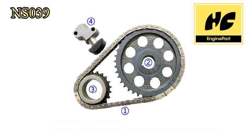 Nissan H20 Timing Chain Kit