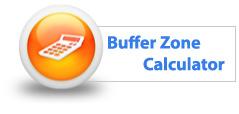 Buffer Zone Calculator
