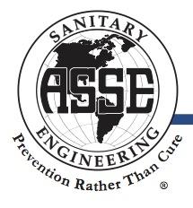 Gecertificeerde installateurs. ASSE - Noord Amerikaanse brancheorganisatie voor installateurs