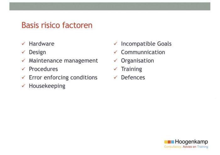 Kruisverbindingen - Medische Gassen - Basisrisicofactoren