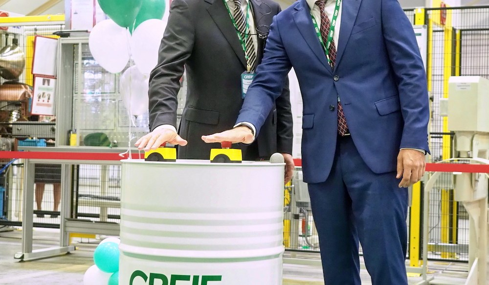 Greif grows in Russia