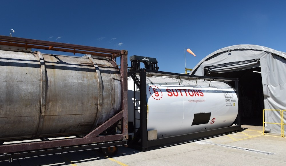 Suttons opens tank workshop up to the world
