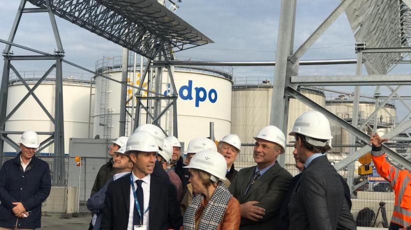 ADPO: Gas-free terminal