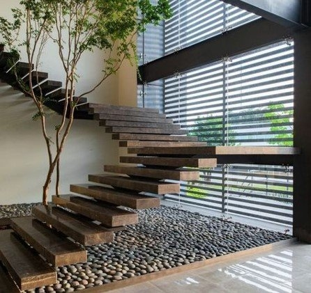 Latest Modern Stairs Designs Ideas Hcb Visuals®   Modern Staircase Window Design   Corner   Indian   Stair Case   Fixed Frame   Beautiful