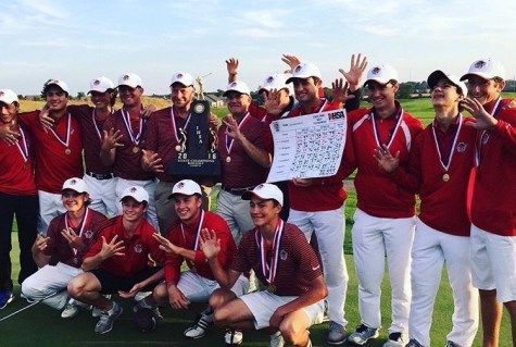 Boys' Golf wins State