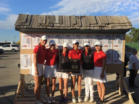 Girls' Golf wins Sectionals