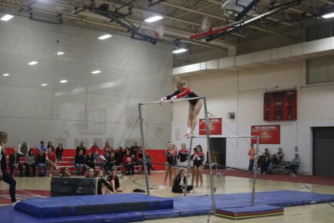Boys' gymnastics wins first meet