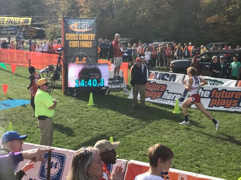 Boys' XC places sixth at State