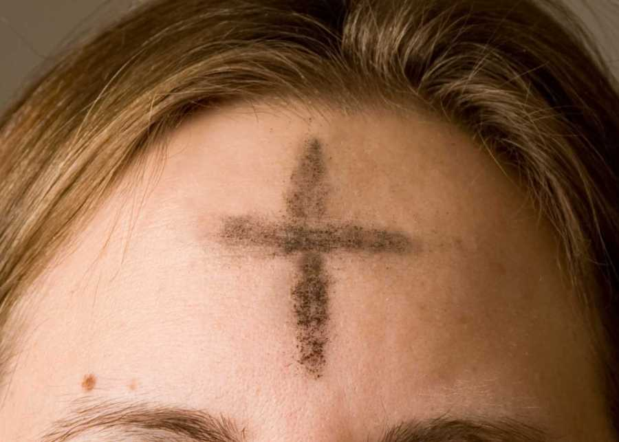 On+Ash+Wednesday+every+year%2C+priests+invite+everyone+to+receive+ashes+in+the+shape+of+a+cross+on+their+forehead+for+the+first+day+of+Lent.