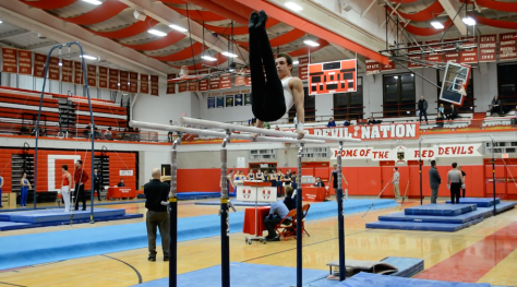 Girls varsity gymnastics takes third at Sectionals