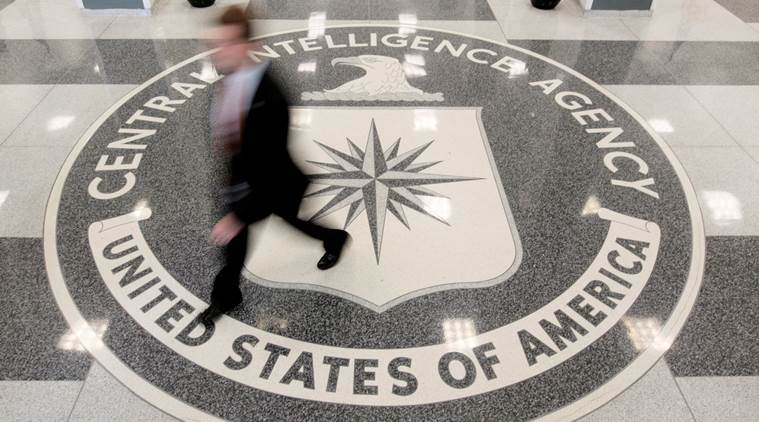 The+CIA%27s+logo+is+displayed+prominently+in+the+lobby+of+their+headquarters+in+Langley%2C+Va.