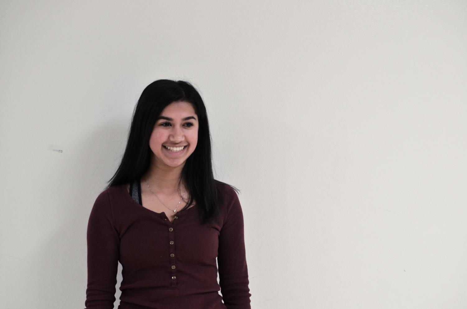 Anchal Kumar, sophomore, will be joining the magazine's staff.