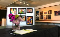 Art department displays students' pieces