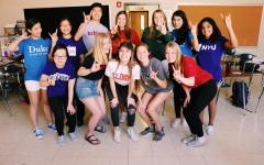 Gallery: College t-shirt day