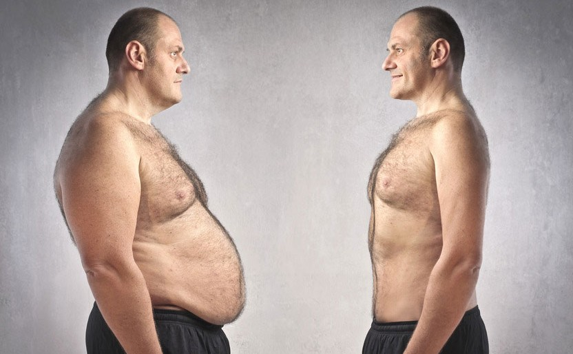 HCG for Men - before and after