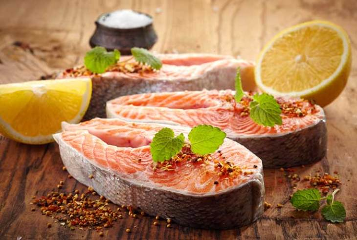 Fish as source of protein for HCG diet
