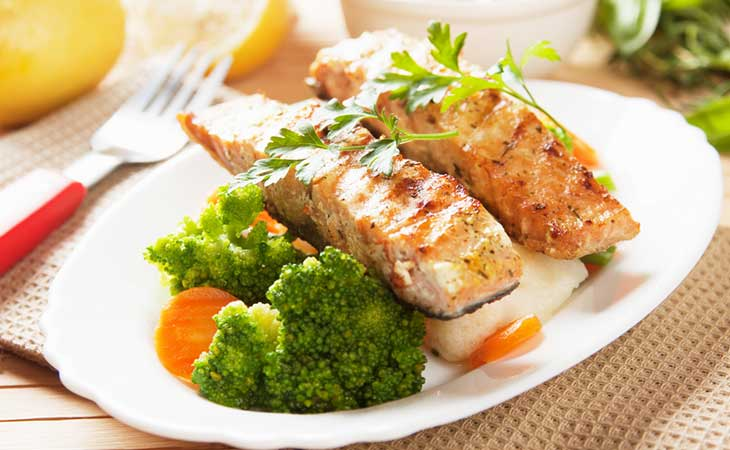 Standard hCG Diet Meal Plan