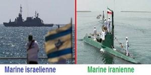 marine iseralienne  et iranienne