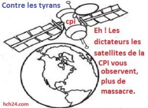 images sattelitaires contre les dictatures - CPI