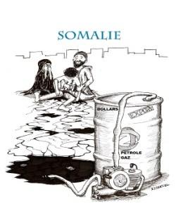 pétrole somalie