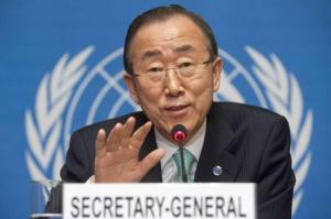 Ban Ki-Moon - ONU