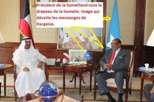 La Somaliland sous le drapeau de la Somalie