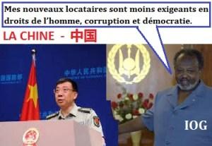 Chine et Ismael Omar Guelleh - IOG