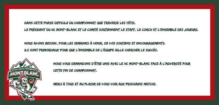 #GoYétis #NeverGiveUp #BeStrong #FierdetreYeti