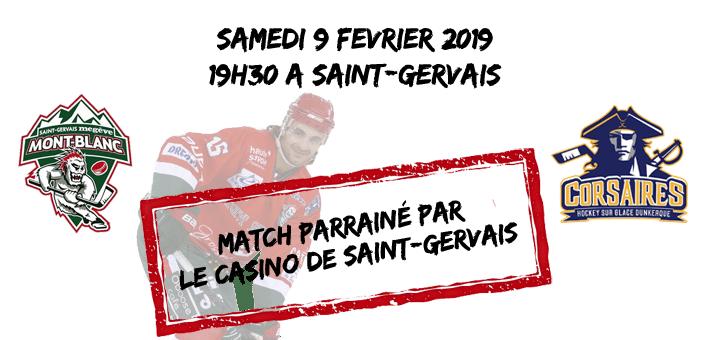 Mont-Blanc vs Dunkerque : 23ème journée de division 1