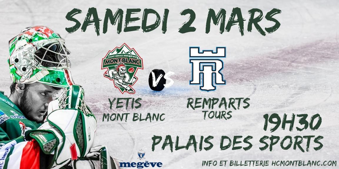 Mont-Blanc vs Tours : 26ème journée de division 1