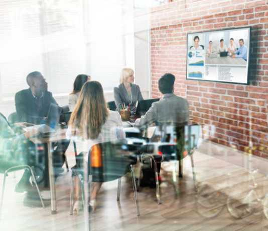 Remote Workers Video Conference