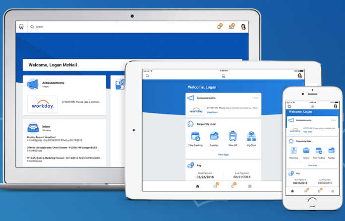 Workday Screen Shots