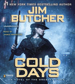 Cold Days (Audiobook)