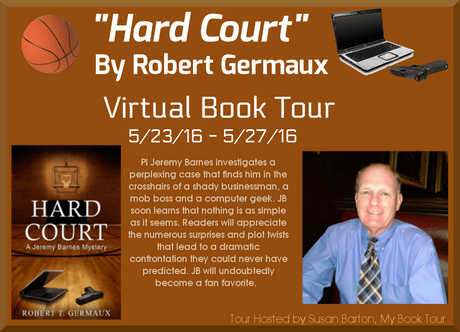 Hard Court by Robert Germaux Virtual Book Tour Banner