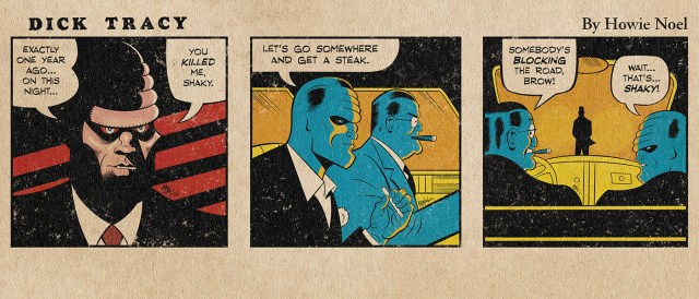 Dick Tracy Thursday Daily Strip by Howie Noel