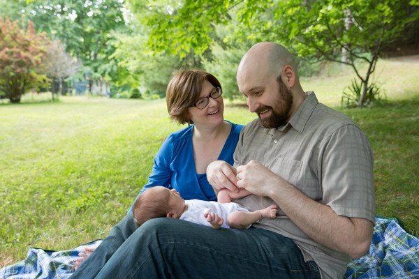 Family portrait by Ellen Gwin.