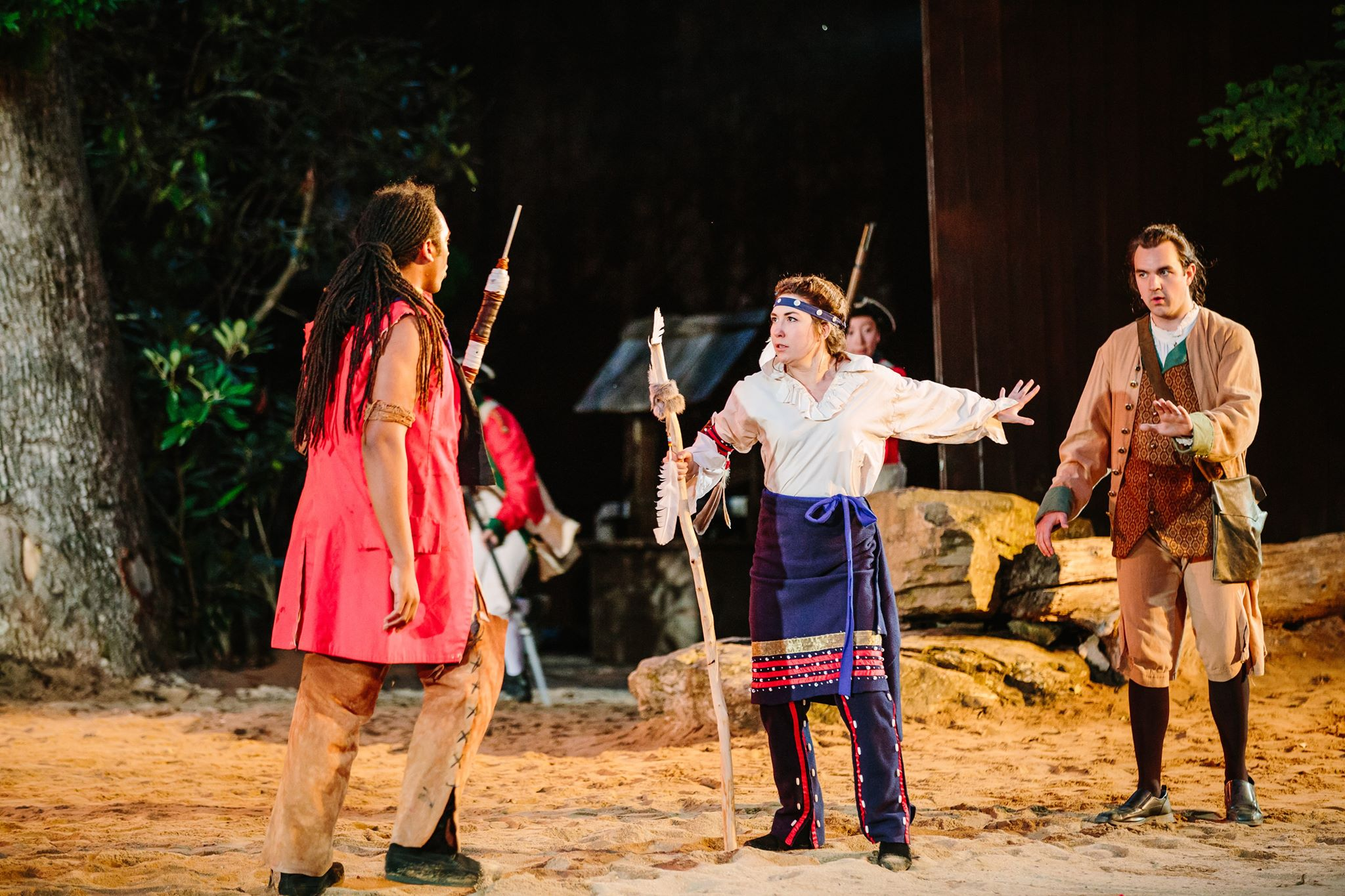 Call of the Horn Outdoor Drama, Nonprofit Hosts 2019