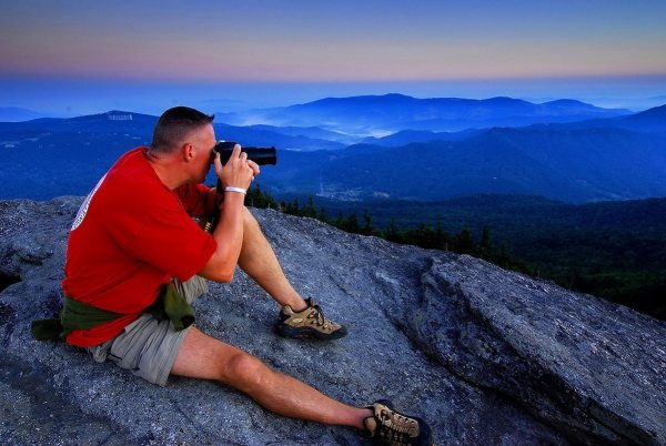 Photographers delight in the opportunity to shoot mountain beauty during Grandfather Mountain's Nature Photography Weekend, returning to the Linville, N.C. attraction June 3 to 5. Photo courtesy of the Grandfather Mountain Stewardship Foundation