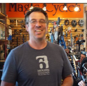 Mike Boone, owner of Magic Cycles