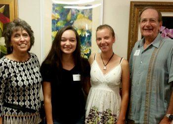 2016 Vocal Scholarship Winners Hope Langston and Rachel Sabo-Hedges
