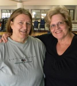 Christine Behrend and Pam Meyer