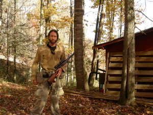 "Bolejack, ready for hunting. Season one of ""Hillbilly Blood."""