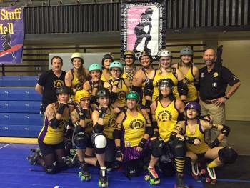 Don't Hate, Speed Date with the Appalachian Rollergirls this Valentine's Day.
