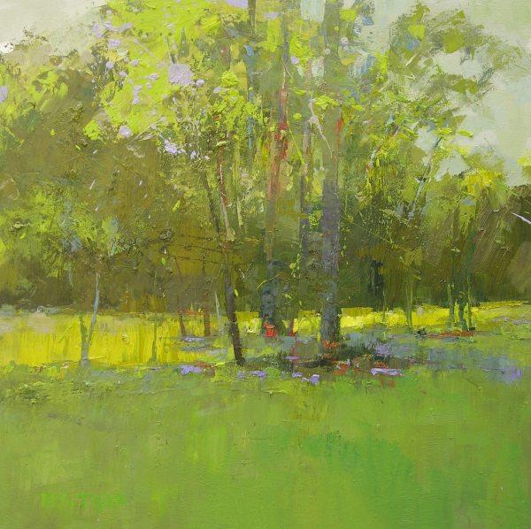 Andrew Braitman - Dawn Glow - 30x30