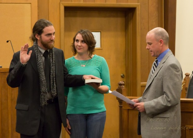 Andy Ball Sworn in as Mayor of Boone NC